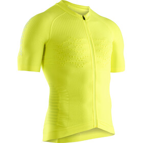 X-Bionic Effektor G2 Maillot de cyclisme Manches courtes Zip Homme, phyton yellow/arctic white
